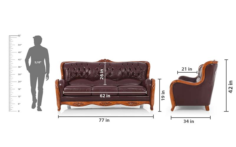 Texas 3seater Sofa Set